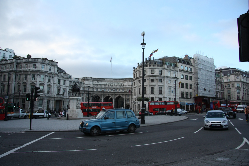 Admirality Arch and Charing Cross