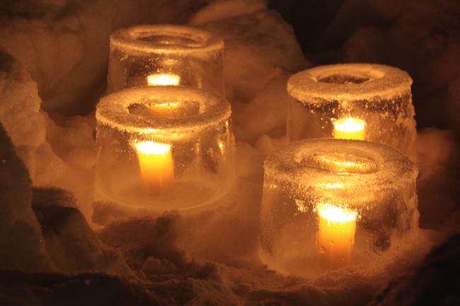 ice lantern