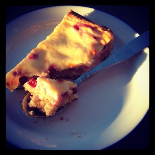 Lingonberry tart