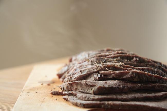 sliced roast
