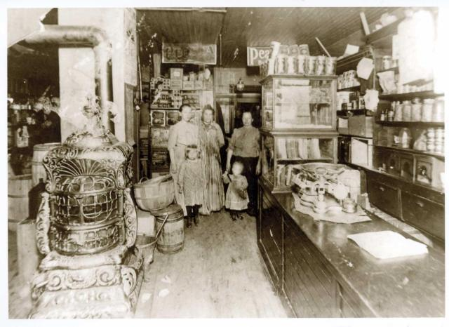 Inside the Anderson store