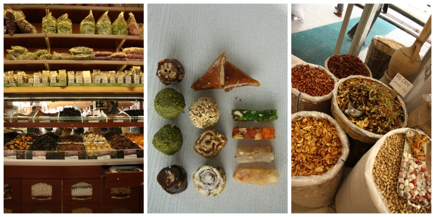 Turkish delights collage
