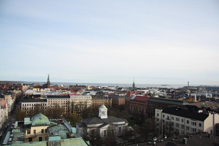 Hotelli Torni, cityscape of Helsinki