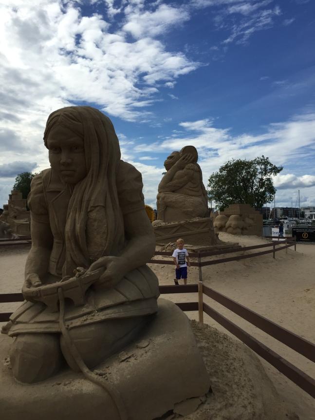 lappeenranta sand sculptures