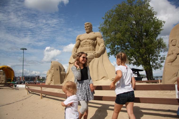 lappenranta finland sand sculptures
