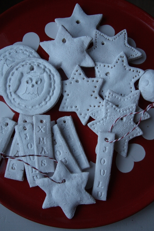 christmas ornaments made with salt dough 2