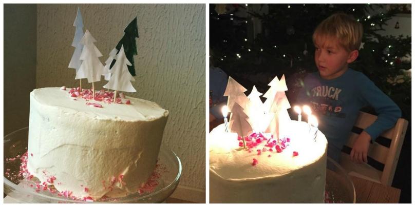 happy birthday kotivinkki joulukakku