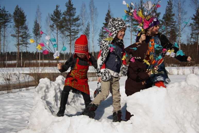 Easter mummus Finland