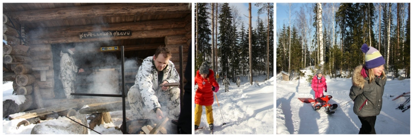 laavu and finnish winter